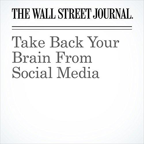 Take Back Your Brain From Social Media copertina