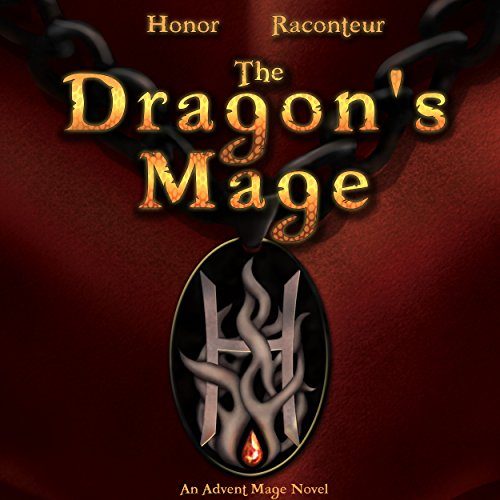 The Dragon's Mage audiobook cover art