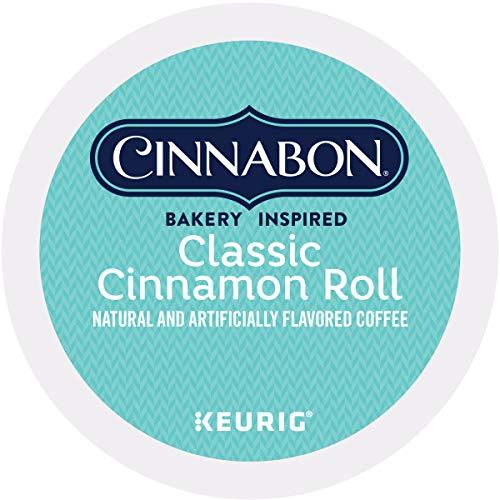Cinnabon Classic Cinnamon Roll, Single-Serve Keurig K-Cup Pods