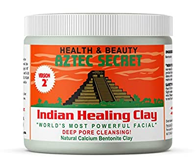 Aztec Secret - Indian Healing Clay 1 lb. (450 Grams) - Deep Pore Cleansing Facial & Body Mask - The Original 100% Natural Calcium Bentonite Clay - New Version 2 by Oceanside Health Products Lp