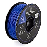 HATCHBOX ABS 3D Printer Filament, Dimensional Accuracy +/- 0.3 mm, 1 kg Spool, 1.75 mm, Blue