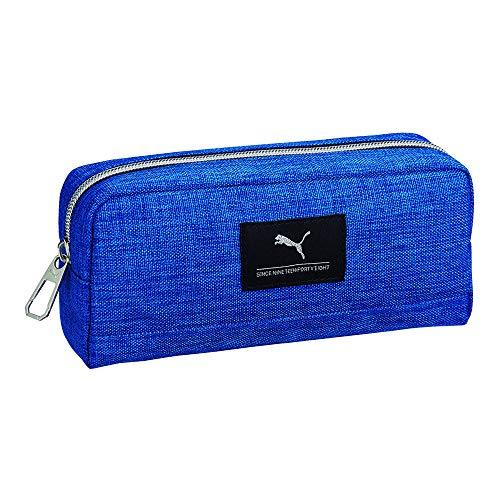 プーマ ペンケース ヘザーカラー ブルー PM244BL
