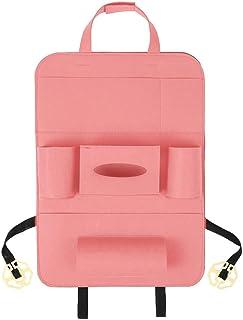 Multi-bolsillo del asiento trasero del coche del organizador de fieltro de lana contenedor de almacenamiento colgantes caja multifuncional bolsa de almacenamiento de vehículos Car-estilo