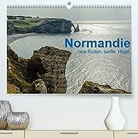 Normandie - raue Kuesten, sanfte Huegel (Premium, hochwertiger DIN A2 Wandkalender 2022, Kunstdruck in Hochglanz): Landschaften der Normandie (Monatskalender, 14 Seiten )