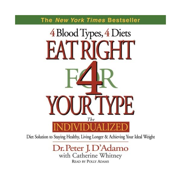 buy Eat Right for Your Type Audible Books and Originals