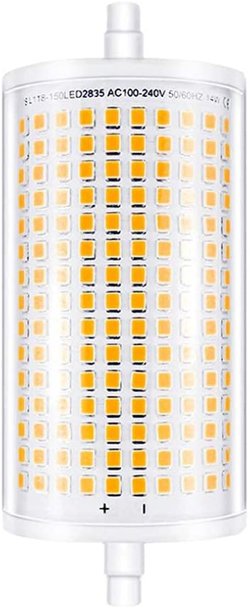 MaoTopCom 15W R7S LED Corn Large special price !! Bulb Pack Dimmable White 2700 1 Albuquerque Mall Warm
