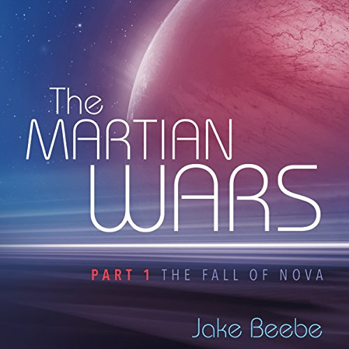 The Fall of Nova audiobook cover art