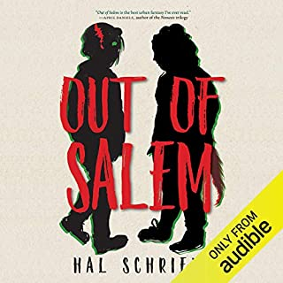 Out of Salem audiobook cover art