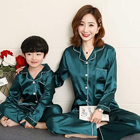Family Matching Mother and Daughter Flower Sleepwear Cotton Swaddle Set Pajamas Sleepsack Short Robes