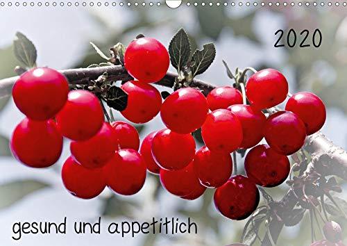 2020 gesund und appetitlich (Wandkalender 2020 DIN A3 quer): hervorgehobene Früchte vom Markt und aus dem Garten (Monatskalender, 14 Seiten ) (CALVENDO Lifestyle)