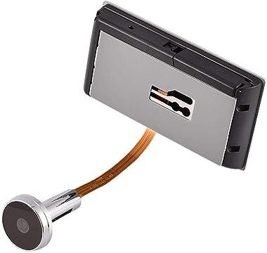 Door Viewer Camera,Tangxi Digital Door Viewer,Door Peephole Viewer with 3.5Inch LCD Screen+Camera+24 Hours Monitoring+120° An