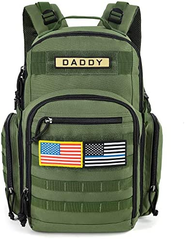 MIRACOL Diaper Bag Backpack for Dad Military Baby Bag for Men Multifunction Travel Backpack product image