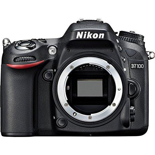 Nikon D7100 SLR Digital Body Only Camera Black (Renewed)