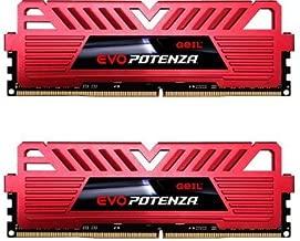 GeIL 8GB (2 x 4GB) EVO POTENZA DDR4 PC4-24000 3000 MHz Desktop Memory Model GPR48GB3000C16ADC
