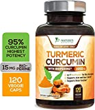 Turmeric Curcumin with BioPerine 95% Curcuminoids 1950mg with Black...