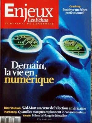 ENJEUX LES ECHOS [No 206] du 01/10/2004