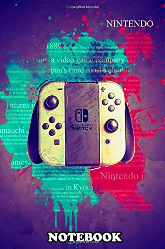 Notebook: Nintendo Switch Gaming Weapon , Journal for Writing, College Ruled Size 6
