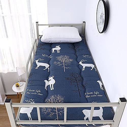 Materasso addensato materasso materasso singolo dormitorio studentesco materasso materasso pad materasso materasso giapponese futon Tatami, D, 90 x 190 cm