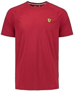 Scuderia Ferrari Formula 1 Men's Authentic 2018 Red Short Sleeve Midlayer Shirt (Medium)