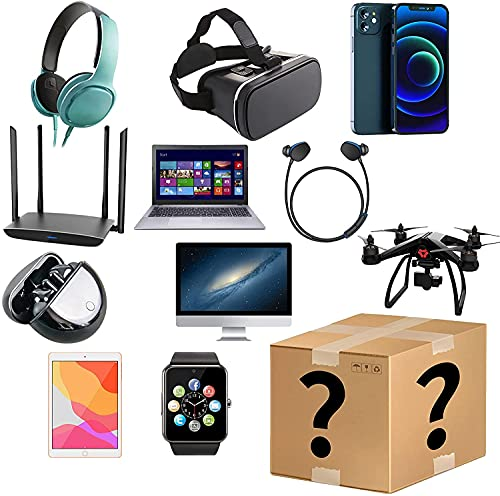 Mystery Box,Birthday Surprise Box, Lucky Box for Adults Surprise Gift, Smart Watches, Electronics Surprise Box Random Electronics Value for Money Extra with A Surprise Gift.