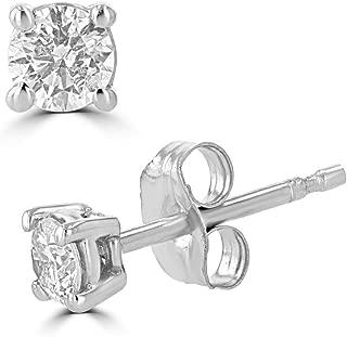 1 2 carat chocolate diamond earrings