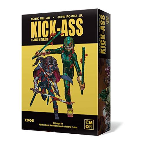 Edge Entertainment Kick--Ass Het bordspel - Spaans kleur (EECMKA01