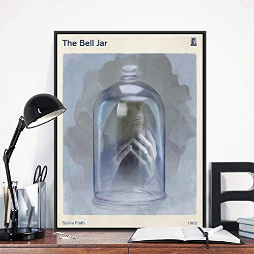 Sanzangtang Bell Jar CYR literatuur boekomslag poster druk literatuur boek worm boekenworm collectie boek Great Wall muurschildering canvas schilderij decoratie zonder frame