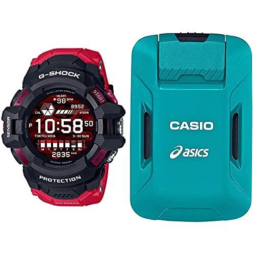 [カシオ] 腕時計 ジーショック G-SQUAD PRO GSW-H1000-1A4JR (ランニングフォーム解析デバイス モーションセンサーセット)