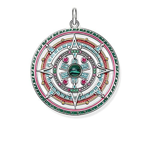 Colgante amuleto mágico joyería de Bohemia Europa Bijoux plata de ley 925 regalo azteca mítico para mujer
