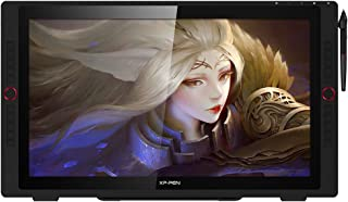 """XP-PEN Artist24 Pro 23.8"""" Gracphic Tablet Pen Display 2K QHD Drawing Monitor with 2 Red Dials, 20 Shortcut Keys, 8192 Leve..."""