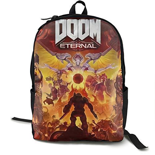 Do-om Eternal Mochila de viaje para portátil y portátil, mochila de viaje para colegio, para mujeres, hombres, niños, antirrobo, resistente al agua, bolsa de negocios