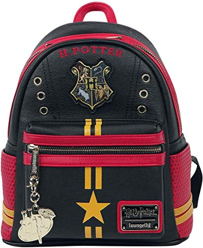 Loungefly Harry Potter Gryffindor Hogwarts Quidditch Womens Double...