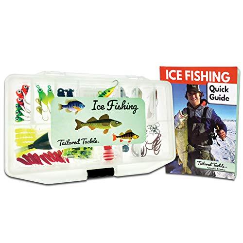 Tailored Tackle Ice Fishing Jigs Lures Kit Walleye Perch Panfish...
