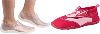 Cressi Water Shoes, Scarpe per Tutti Gli Sport Acquatici Unisex Adulto, Clear, 37 EU & Coral Scarpette Adatte per Mare, Sp...