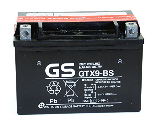Baterías de Motocicleta MF VRLA 12V 8Ah 135CCA GS GTX9-BS