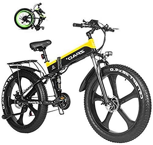 Bicicletas Eléctricas, Batería de Litio 1000W Grasa de Bicicleta eléctrica de 48V...
