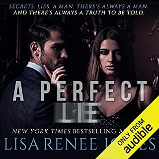A Perfect Lie audiobook cover art
