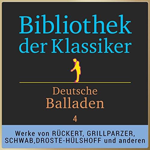 Deutsche Balladen, Teil 4 (Bibliothek der Klassiker) Titelbild