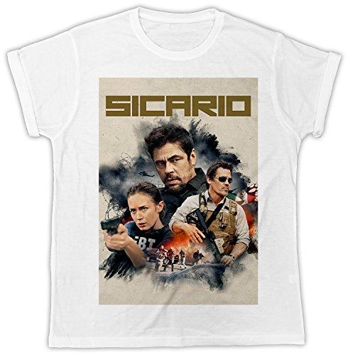 Uk print king Sicario Movie Poster Cooler Spruch, Slogan, lustiges Design, Geschenkidee