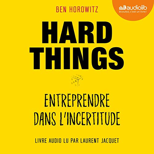 Hard Things audiobook cover art