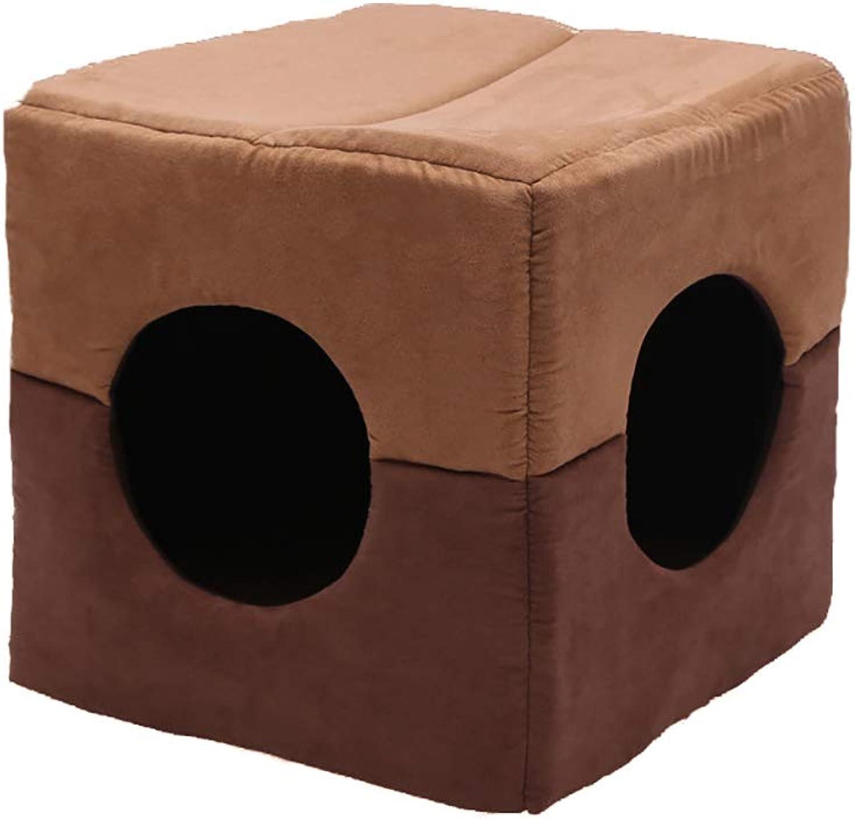b29ca4042827 Pet Bed, Pet Nest for Small and Medium DualPurpose Square Pet Mat ...