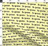 Liebe, Spanisch, Ich Liebe Dich, Romantik, Schwarz Und Gelb
