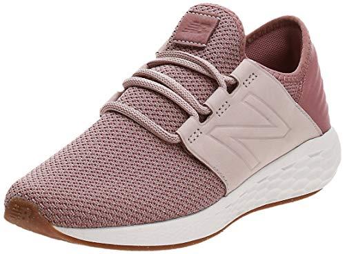 New Balance Damen Fresh Foam Cruz v2 Sneaker, Pink (Conch Shell/Dark Oxide Na2), 40 EU