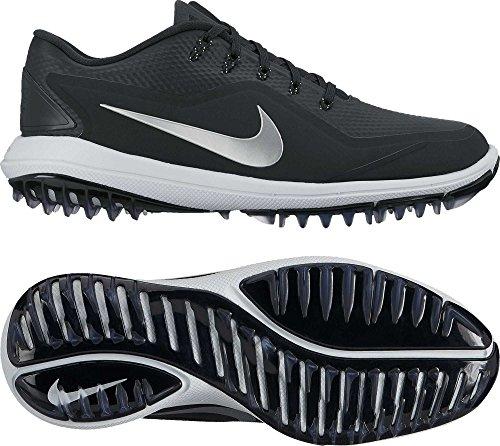 Nike Damen WMNS Lunarcontrol Vapor 2 Golfschuhe, Schwarz (Negro 001), 39 EU
