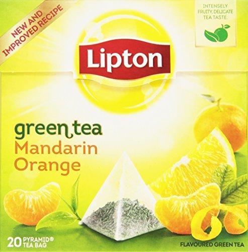 Lipton - Té verde con aroma de mandarina 20 x 1.8 gr
