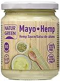 NaturGreen Mayo Hemp Salsa de Cáñamo 245gr - Pack de 3 unidades de 245 gr.