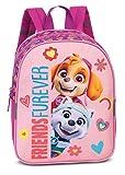 Paw Patrol, zaino per bambini da 2 a 6 anni con Skye e Everest 'FRIENDS FOREVER', asilo e kita – 29 cm x 23 cm x 10 cm 6L rosa