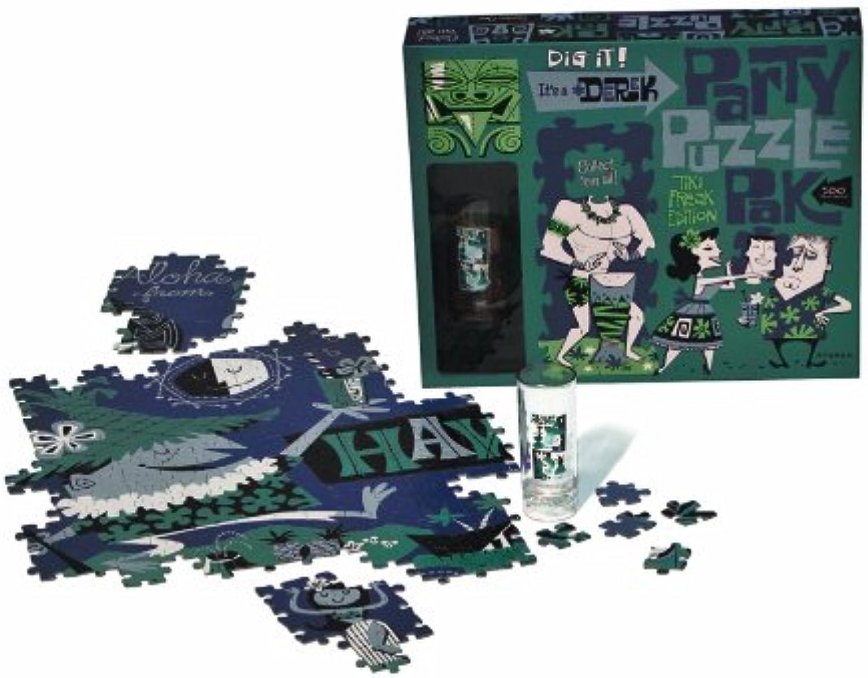 Derek Party Puzzle PackGroovy Island