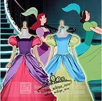 コスプレ衣装姉妹アナスタシア ラインドレスのシンデレラ 2着 オーダーサイズ可能 クリスマス、ハロウィン イベント仮装  コスチューム