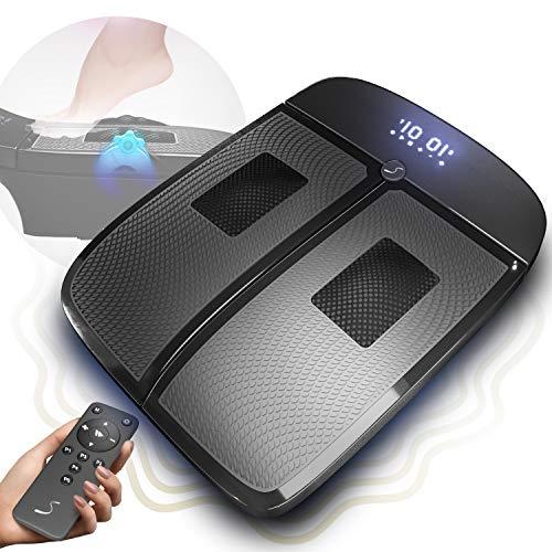 Sportstech VX350 2in1 Vibrationsplatte  Vibration und Massage im Edlen Design  3D Vibrationen stimulieren die Durchblutung der Beine   Schmerz lindern & Füße beleben Dank rotierende Massageköpfe